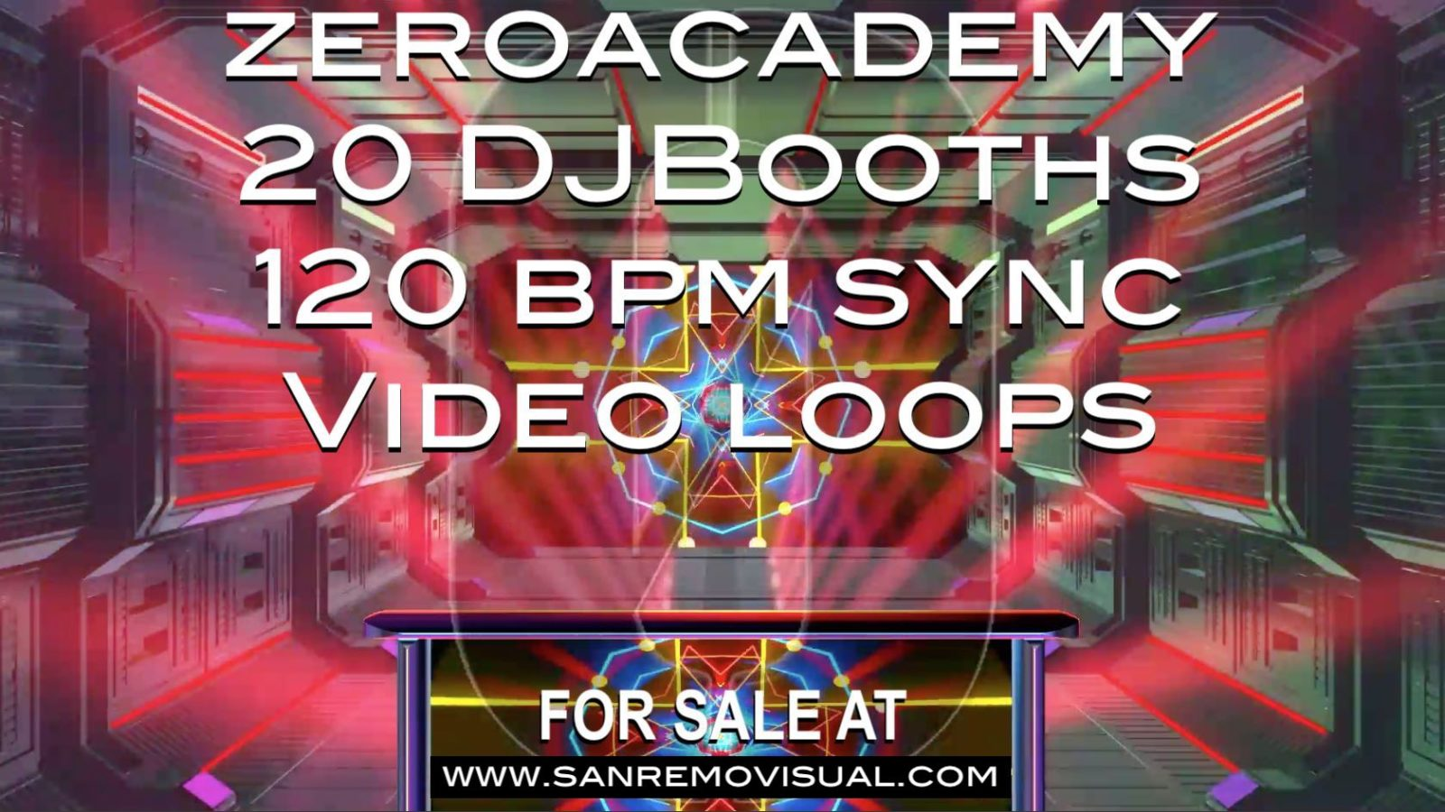 DJBooths – 20 videoloops for VJing